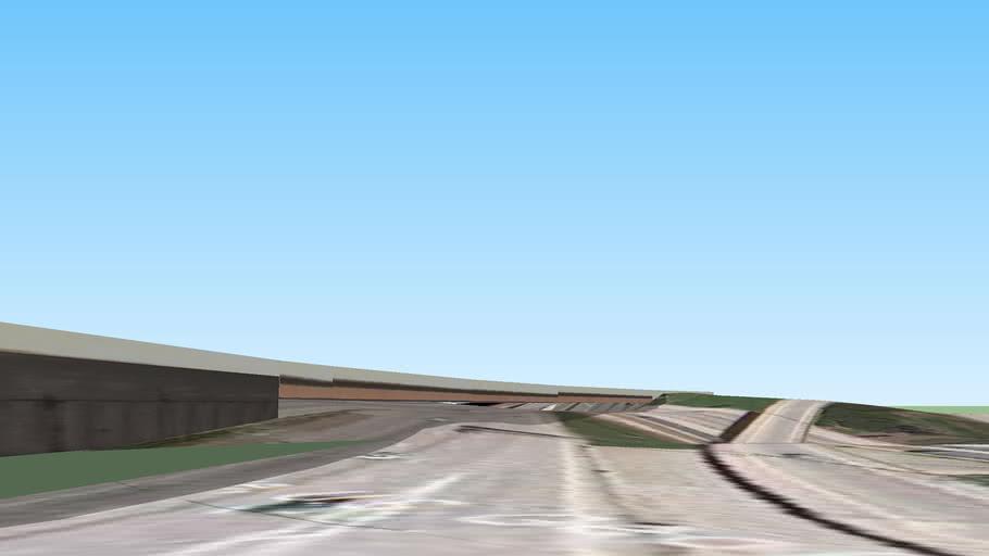 I-94  Edens Expwy Overpass
