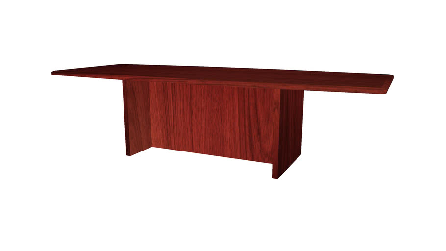 Office Table 10ft Long - Detailed