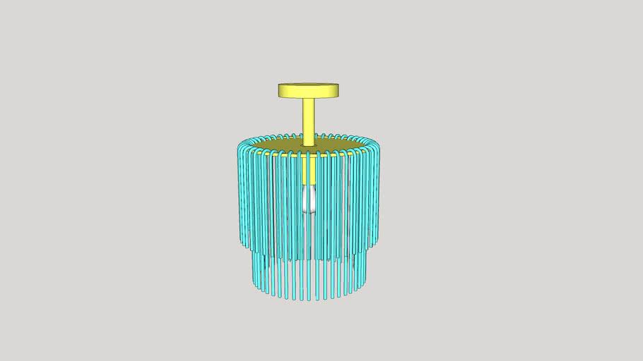 Royalton Small Pendant by Arteriors Home Light Fixture