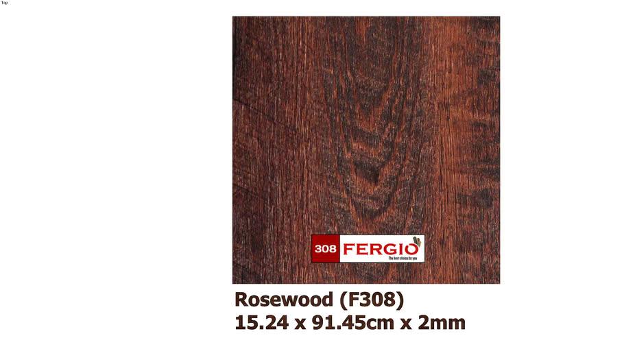 FERGIO vinyl flooring F308 (Rosewood)