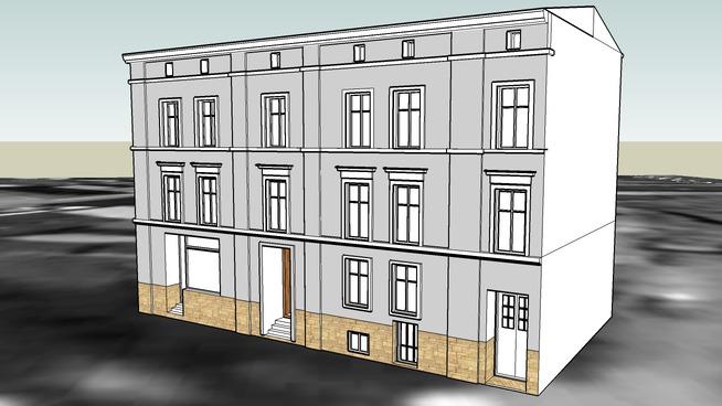 TENEMENT HOUSE ON 18 MARCINKOWSKIEGO STREET IN BYDGOSZCZ