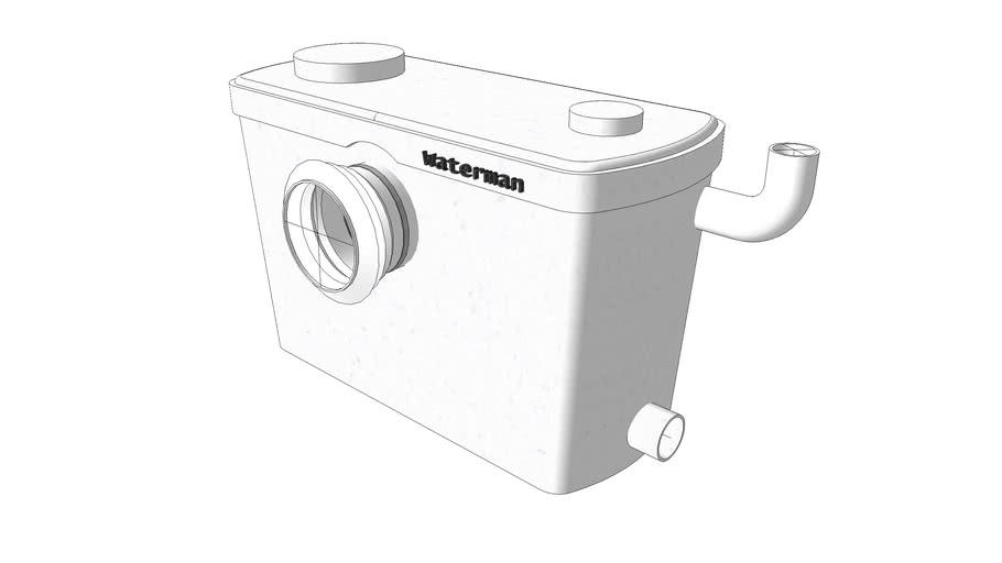 Wc pompa rozdrabniacz, toilet shredder, toilet grinder. Waterman pro.