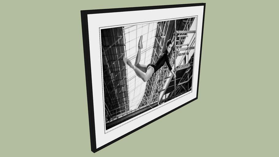 "BRODZIAK ""Ballerina #18"" 128x94 cm - Black&White, Photography, Image, Picture"