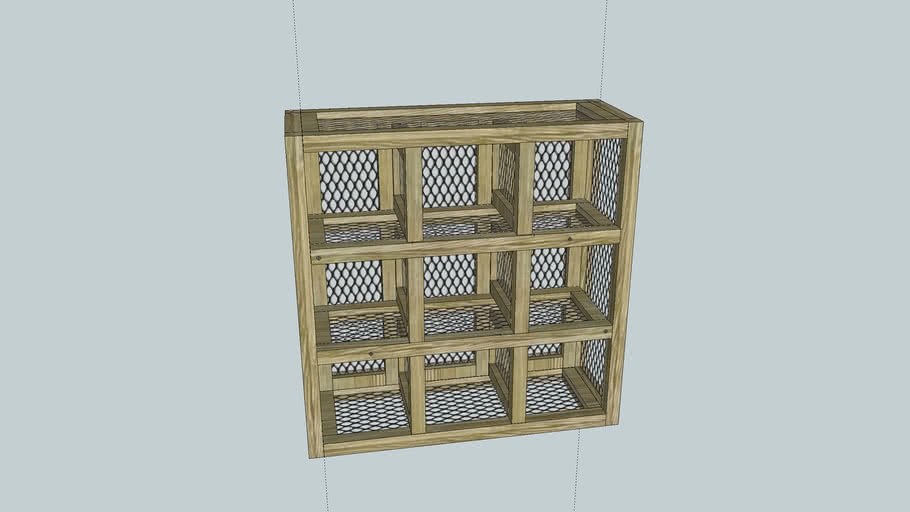 Outdoor Storage Cubby Unit