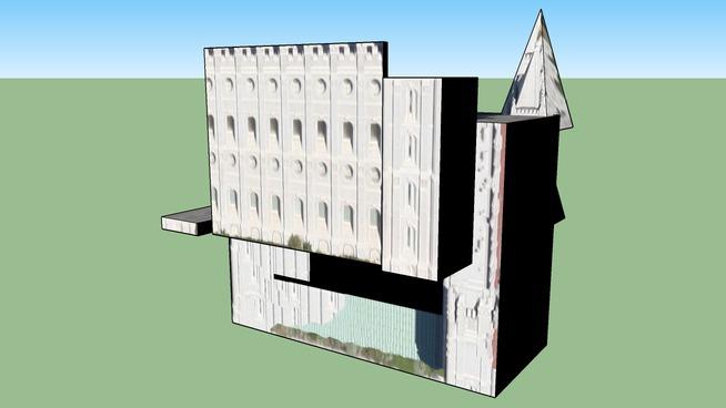 LDS Temple, Salt Lake City, UT, USA