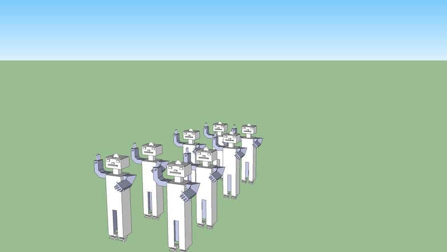 tropa de robots