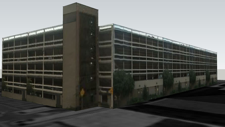 Parking Garage on University Avenue, Newark
