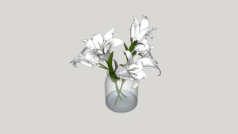 Vaso de flores - 21