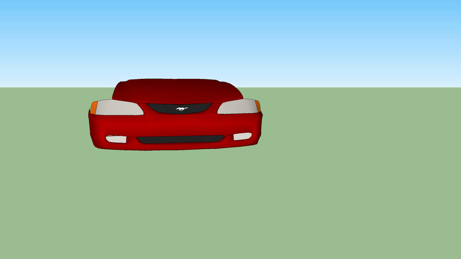 1994-1998 Ford Mustang front end