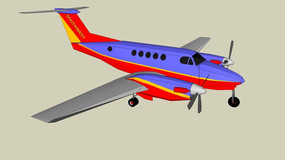 South West Hawker Beechcraft KingAir B200GT Concept