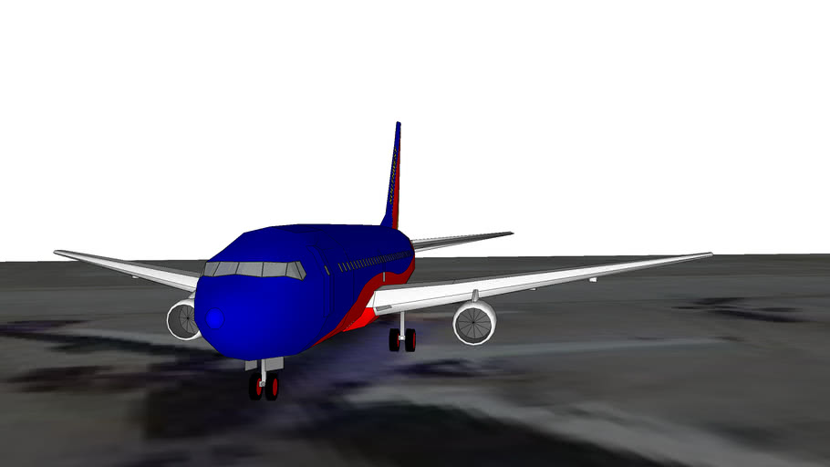 Southwest Airlines Boeing 737 at Phoenix Sky Harbor International