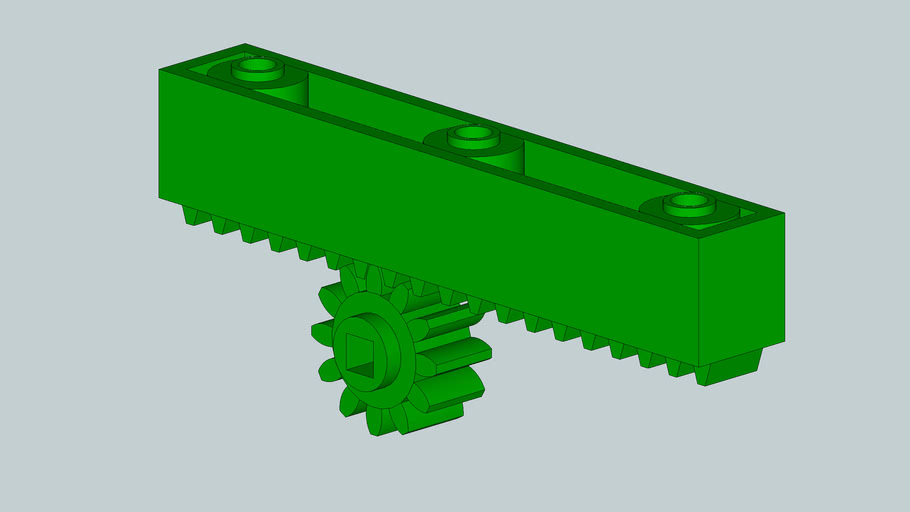 VEX Rack and Pinion Gear