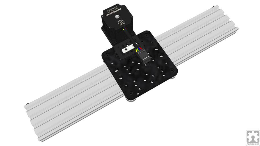 C-Beam NEMA 23 Belt & Pinion Actuator