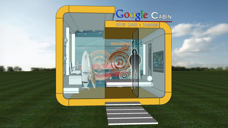 Google Cabin - code zone : ZCANNER