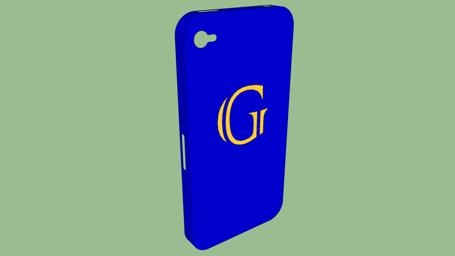 Iphone 4s case with logo