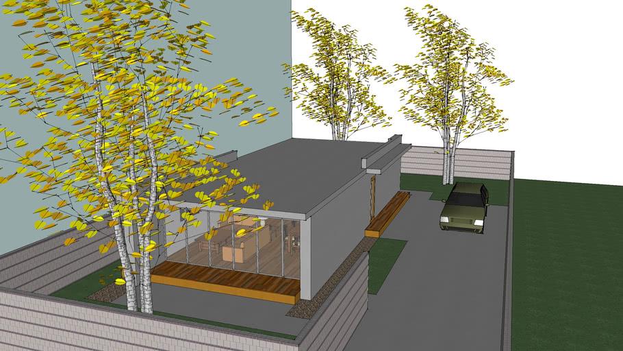 small modren house