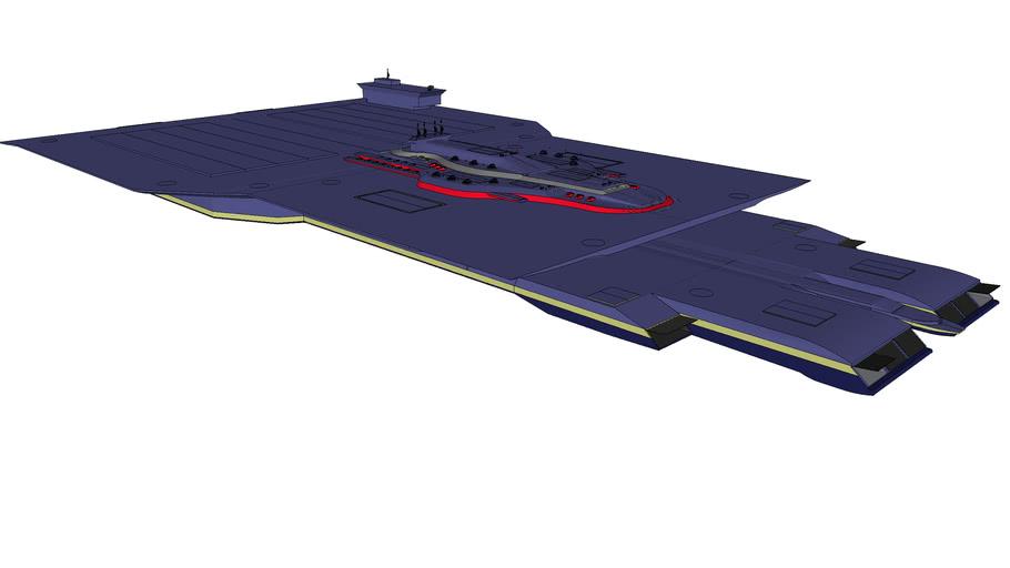 XAC Blue Dragon - Space aircraft class