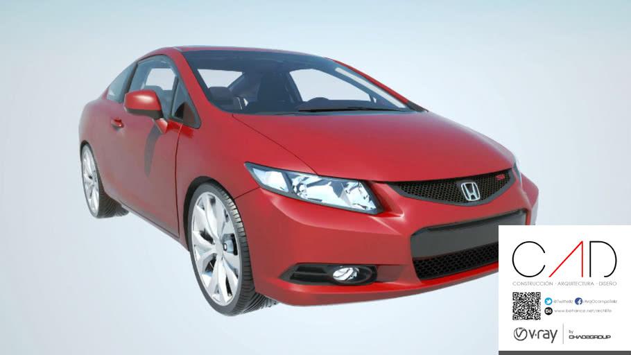 Honda+Civic+Si.skp