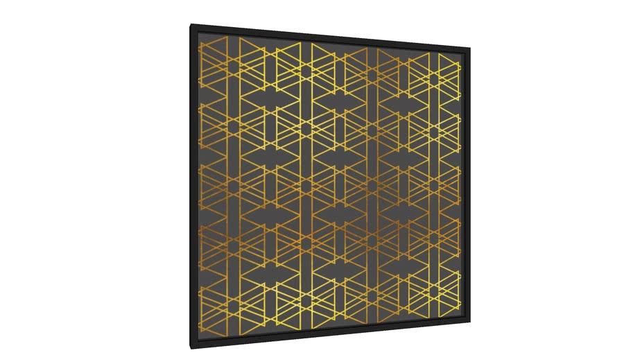 Quadro ENCONTROS - GOLD II - Galeria9, por Larissa Ferreira