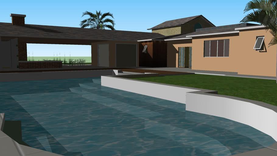 Casa moderna terrea grande Modern Home