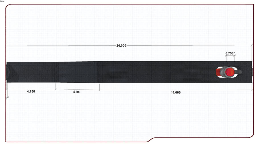 cb 750 Swingarm