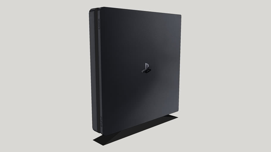 Playstation 4 Low Poly