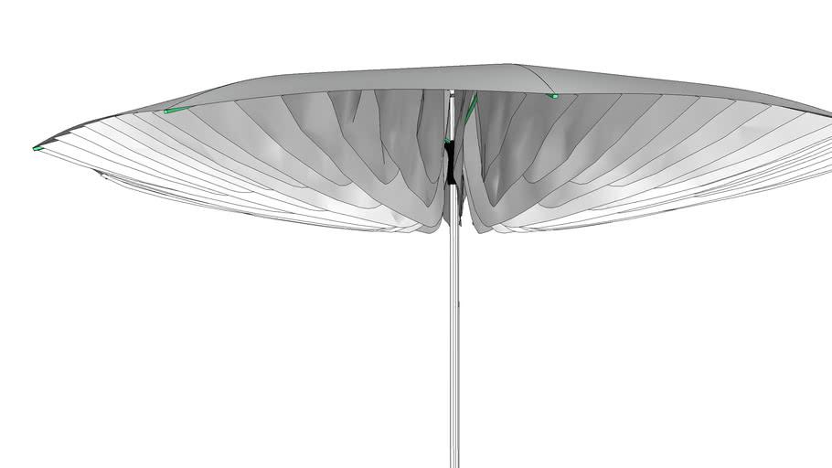 Paddo Parasol 300 cm - Sywawa Design Parasols