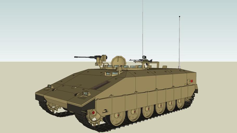 'Namer' Mk.1, IDF, 2010.