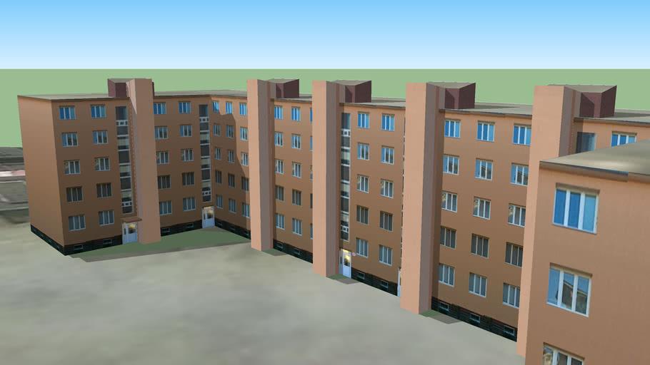 Bytovka na Letnej ulici Košice