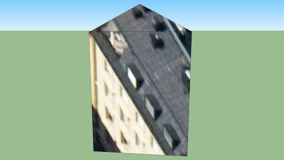 Byggnad på Stockholm, Sverige