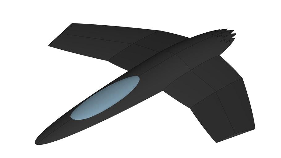 Gray Matter Shipyard  - Starship based Star Fighter Xe-04... x Carl U
