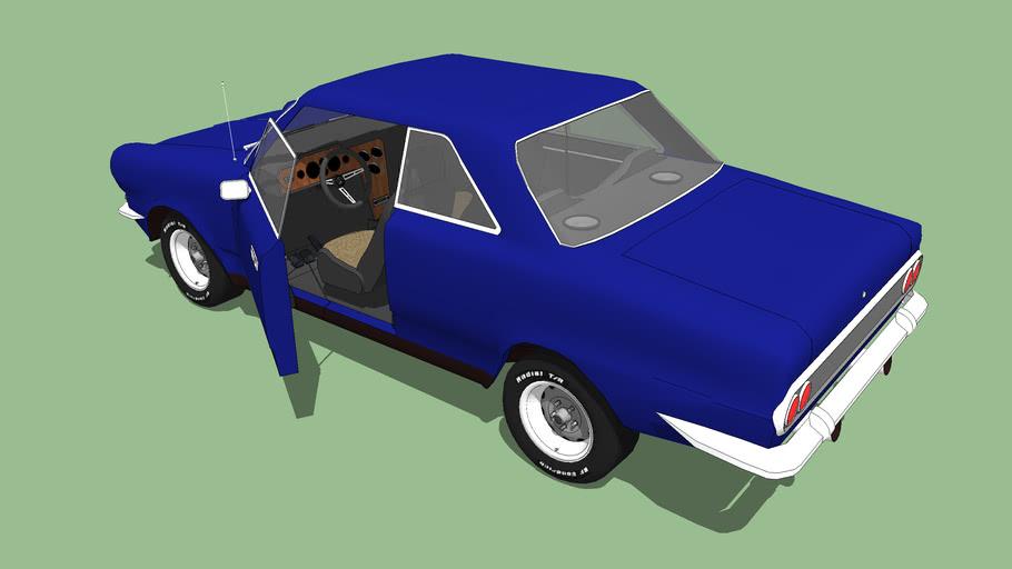 "Ika-Renault ""Torino"" 1967, made in argentina"