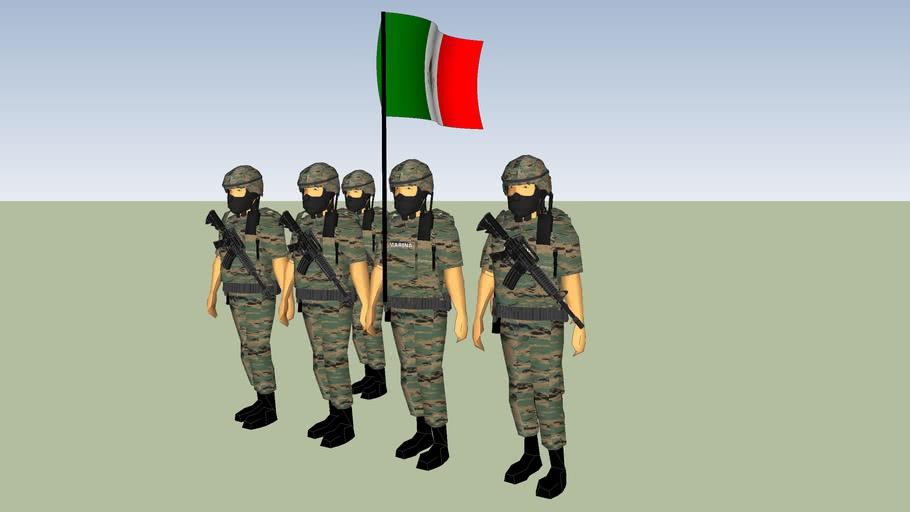 ESCOLTA DE SEMAR EJERCITO MEXICANO FUERZAS ARMADAS