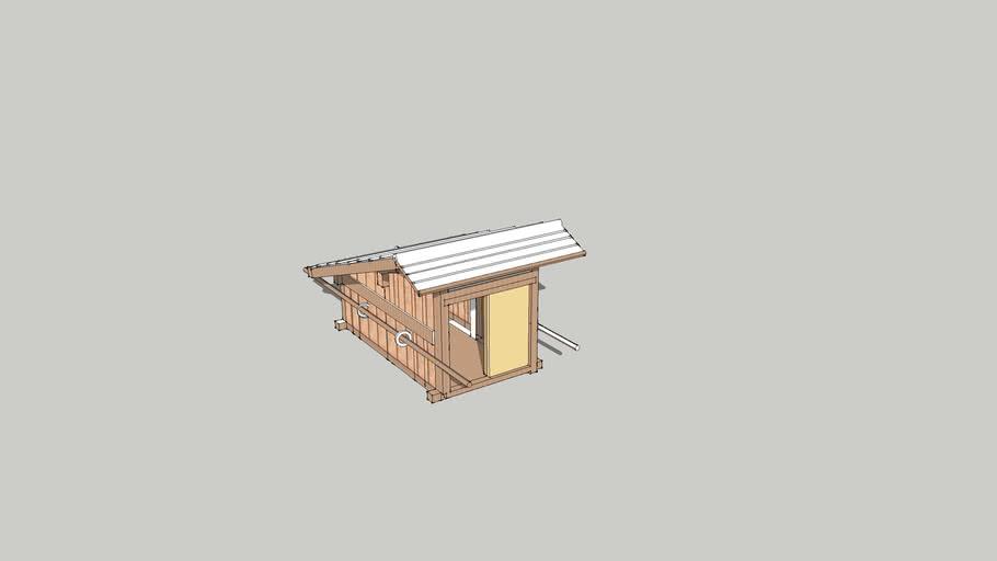 Japanese fisherman's hut