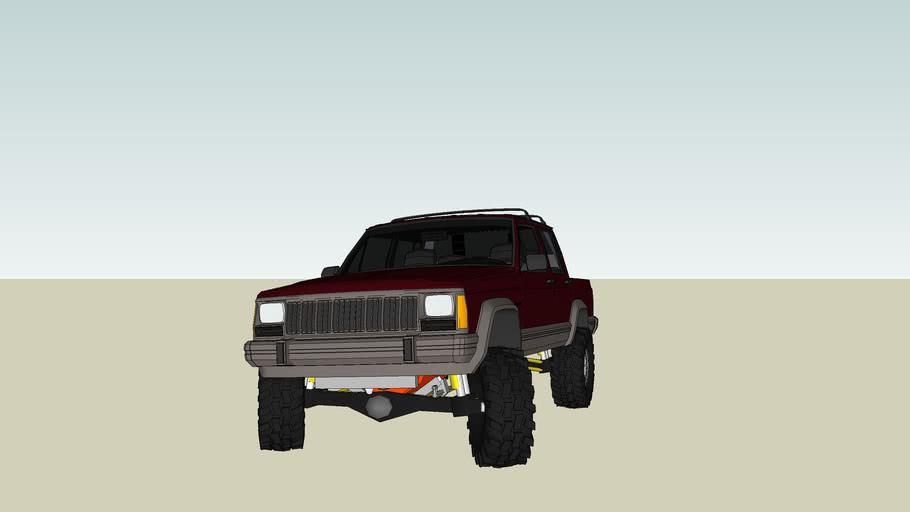 jeep cherokee custom truck