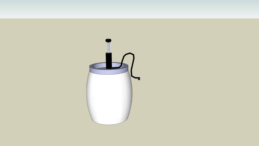 Beer Keg with Tap