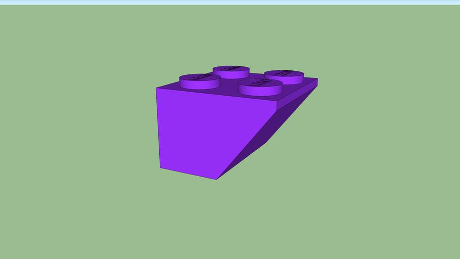lego coupé violet
