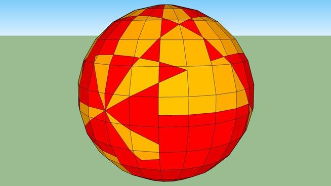 criss cross ball
