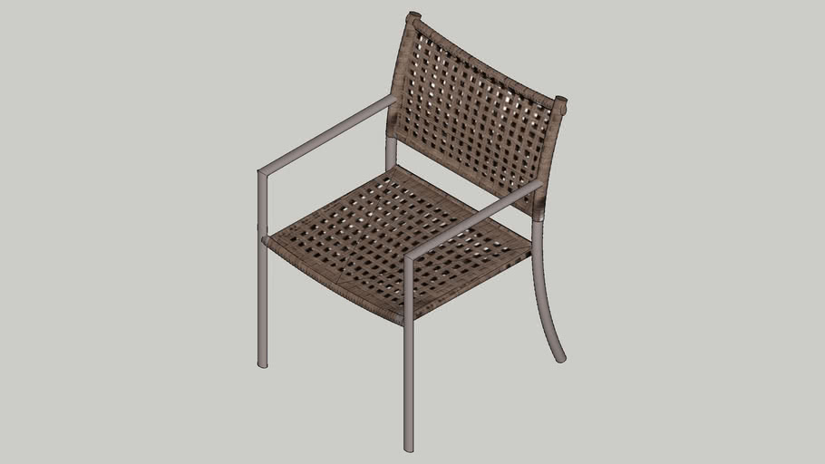 Cadeira c/ Braço Giardino - Tidelli