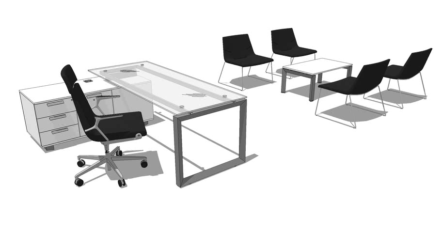 MECO desk composition 003 TRIS