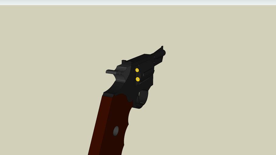 Snubnose revolver-
