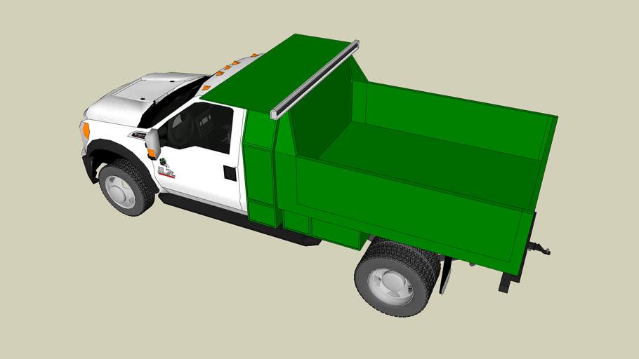 Fullmer's Landscaping Foreman Truck
