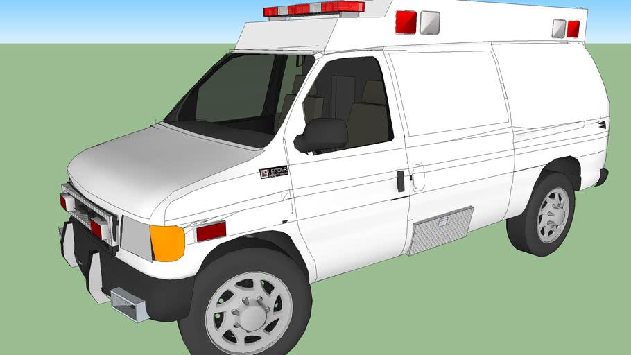 ambulance type ll ford f350 econoline model 2004