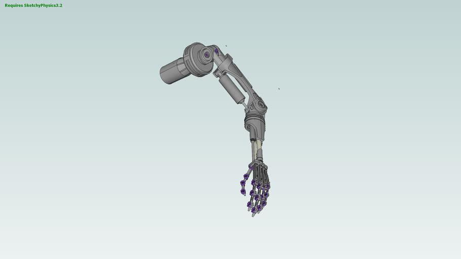 Terminator Arm & Hand