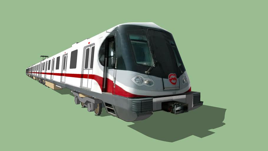 Shanghai Metro Line 11 Train