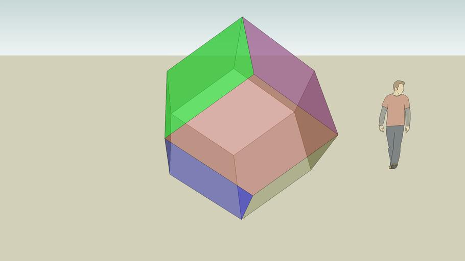Elisa - Dodecaedro Rombico (cubo stellato)
