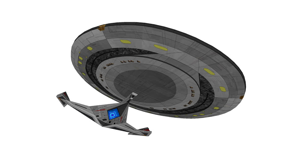 USS Enterprise NCC- 1701- G by Calamity Si *UPDATED*