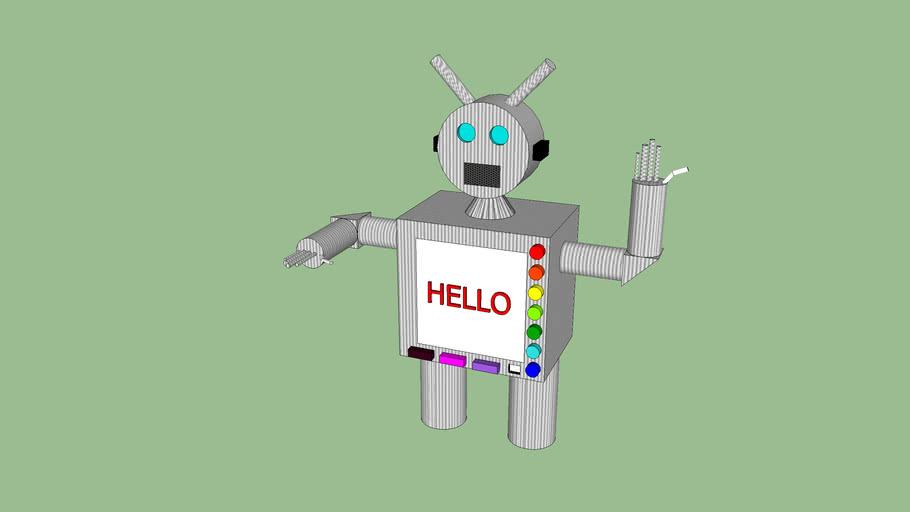 robot G C F