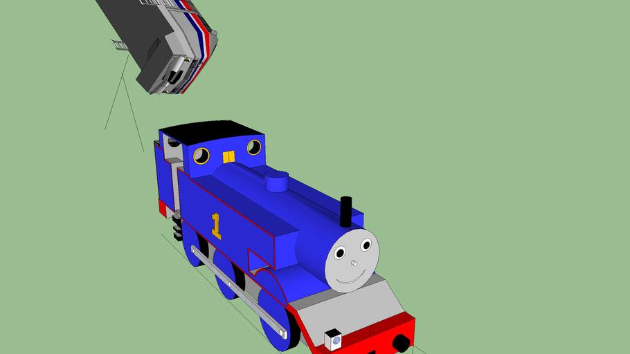 thomas and the magic railroad chase scene