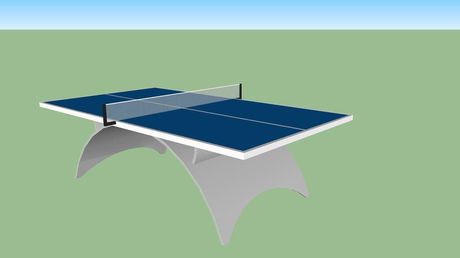 Table de ping pong Charlotte Reculeau